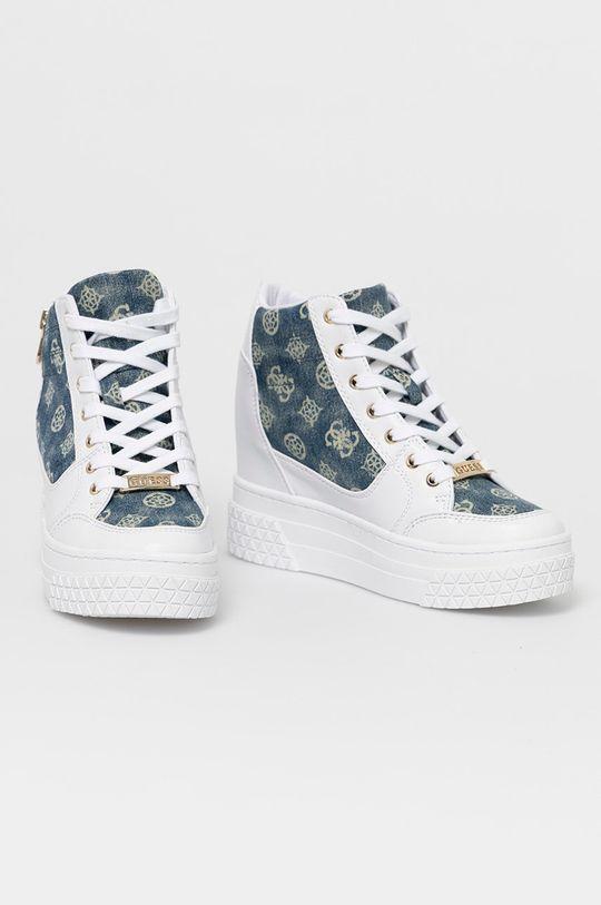 Guess - Pantofi alb