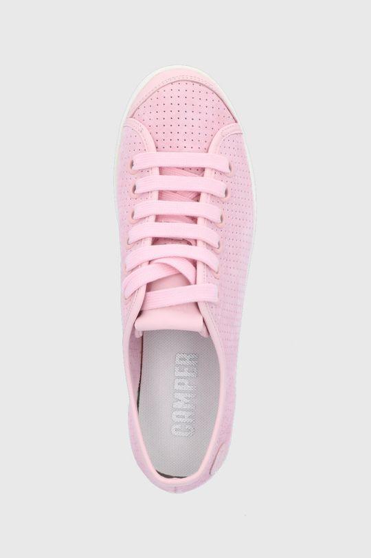 różowy Camper - Tenisówki skórzane Uno
