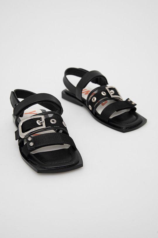 BIMBA Y LOLA - Sandály černá