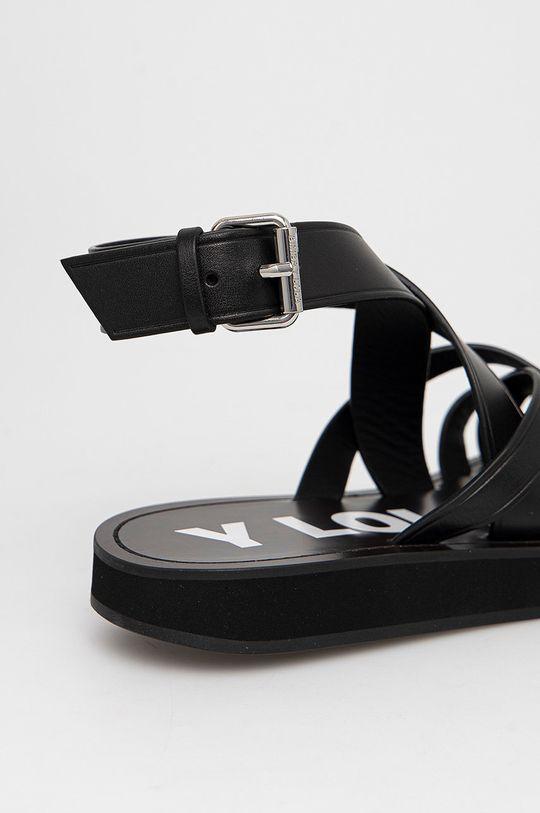 BIMBA Y LOLA - Kožené sandály  Svršek: Přírodní kůže Podrážka: Umělá hmota Vložka: Umělá hmota, Přírodní kůže