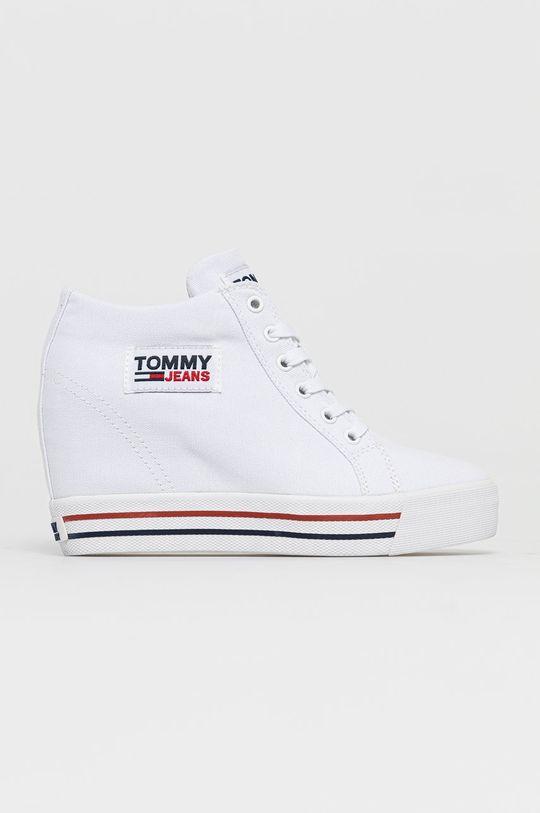 biały Tommy Jeans - Trampki Damski