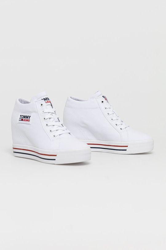 Tommy Jeans - Trampki biały