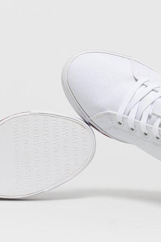 biały Tommy Jeans - Trampki