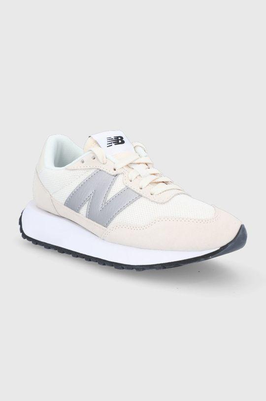 New Balance - Topánky WS237CB krémová