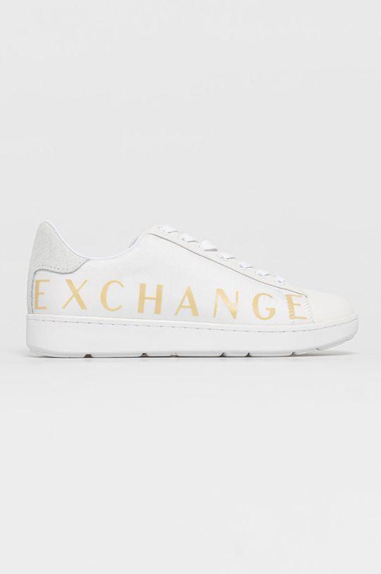 biały Armani Exchange - Buty Damski