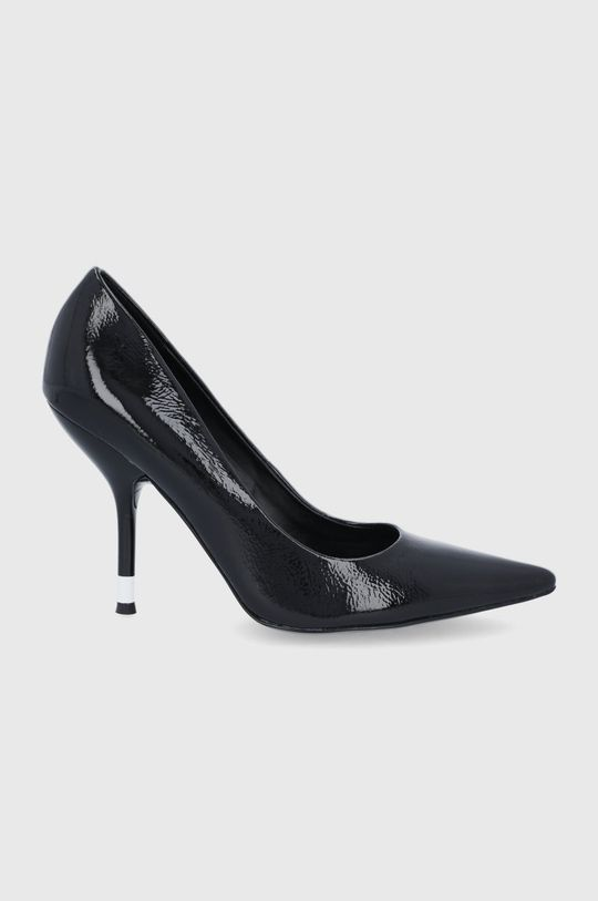 černá Calvin Klein - Kožené lodičky Dámský