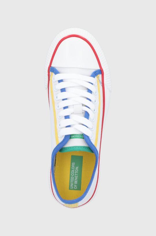 biały United Colors of Benetton - Tenisówki