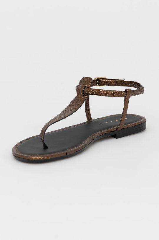 Sisley - Sandály zlatá