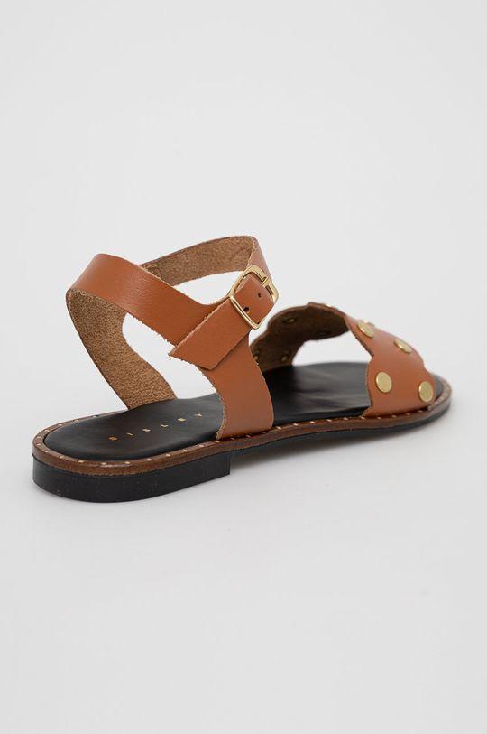 Sisley - Kožené sandály  Svršek: Přírodní kůže Vnitřek: Umělá hmota, Přírodní kůže Podrážka: Umělá hmota