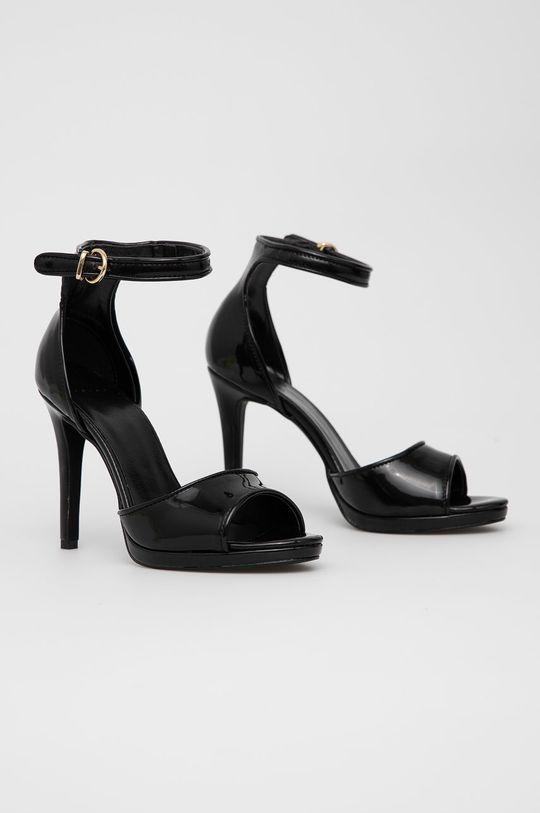 Sisley - Sandały czarny