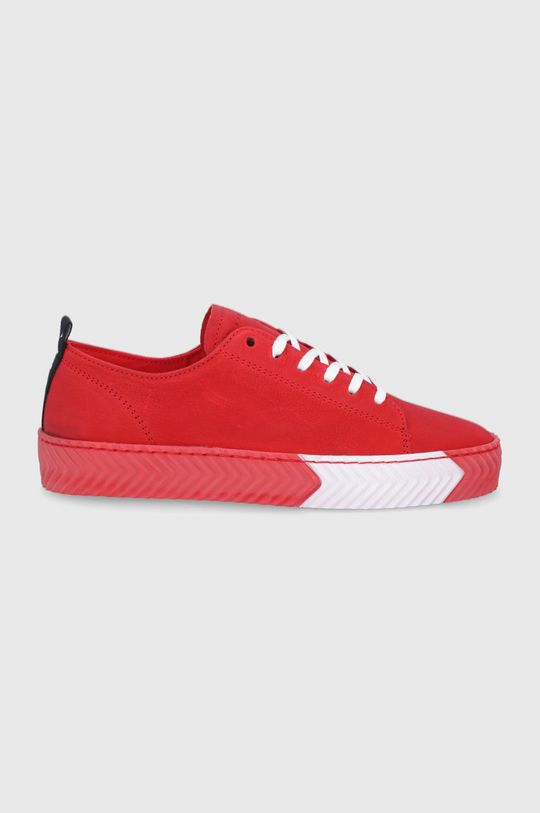 červená Sisley - Kožená obuv Dámsky
