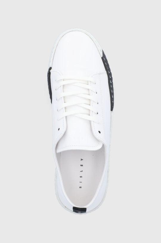 bílá Sisley - Kožené boty