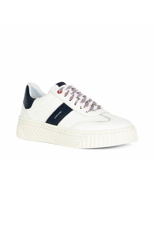 Geox - Buty biały