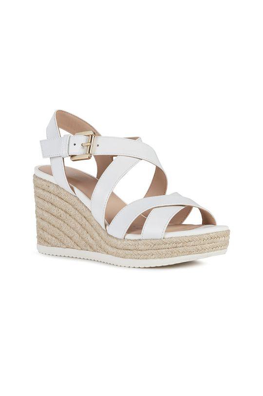 Geox - Sandały biały