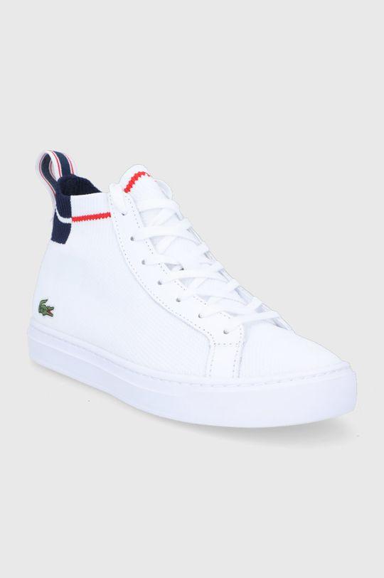 Lacoste - Trampki biały