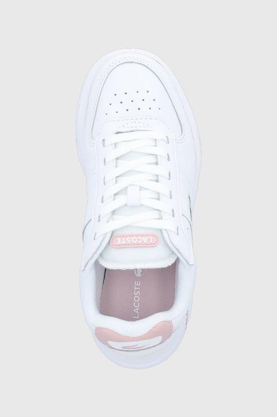 biela Lacoste - Kožená obuv Game Advance