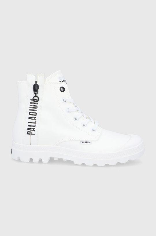 biały Palladium - Trampki Damski