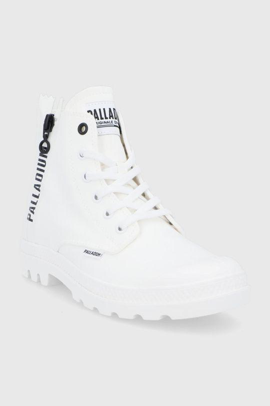 Palladium - Trampki biały