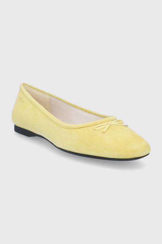 Vagabond - Baleriny MADDIE żółty