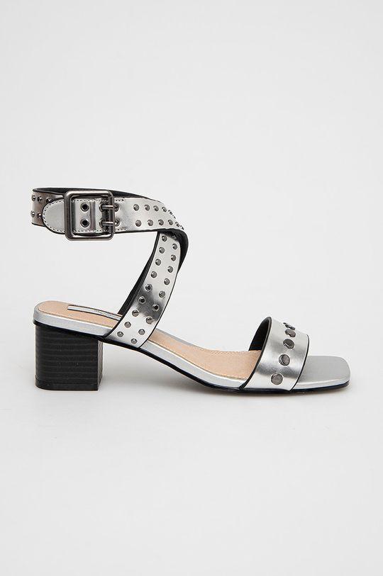 stříbrná Pepe Jeans - Sandály Romy Studs 2 Dámský