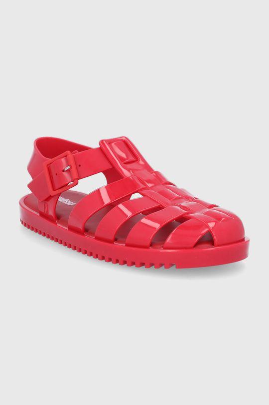 Melissa - Sandály červená