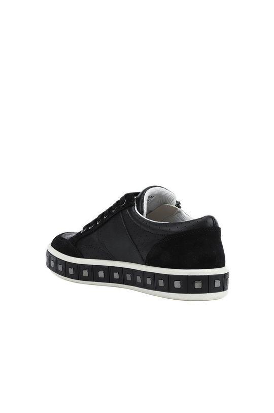 černá Geox - Kožené boty
