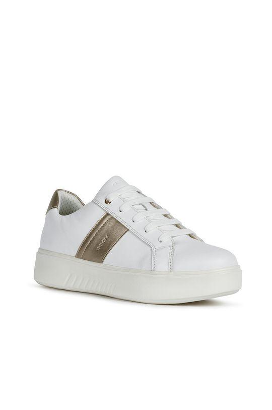 Geox - Kožené boty bílá