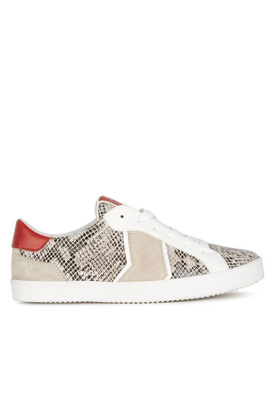 béžová Geox - Kožené boty Dámský