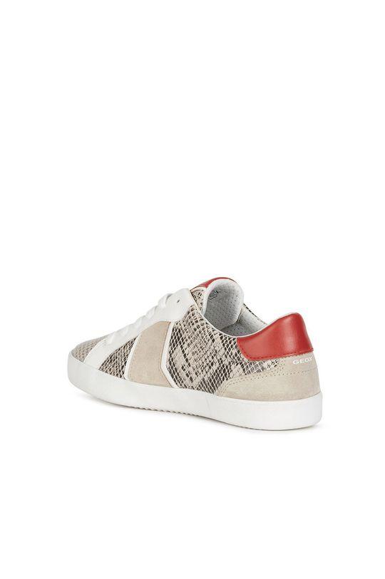 béžová Geox - Kožené boty