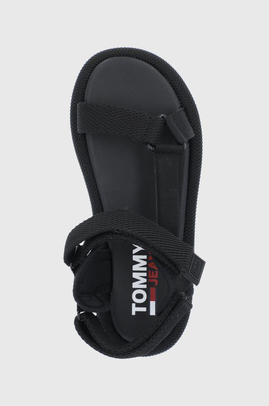czarny Tommy Jeans - Sandały