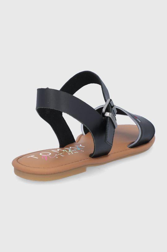 Tommy Jeans - Sandały skórzane Cholewka: Materiał syntetyczny, Skóra naturalna, Wnętrze: Materiał tekstylny, Skóra naturalna, Podeszwa: Materiał syntetyczny
