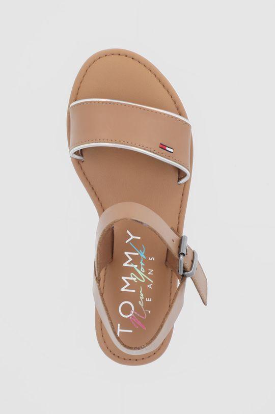 maro Tommy Jeans - Sandale de piele