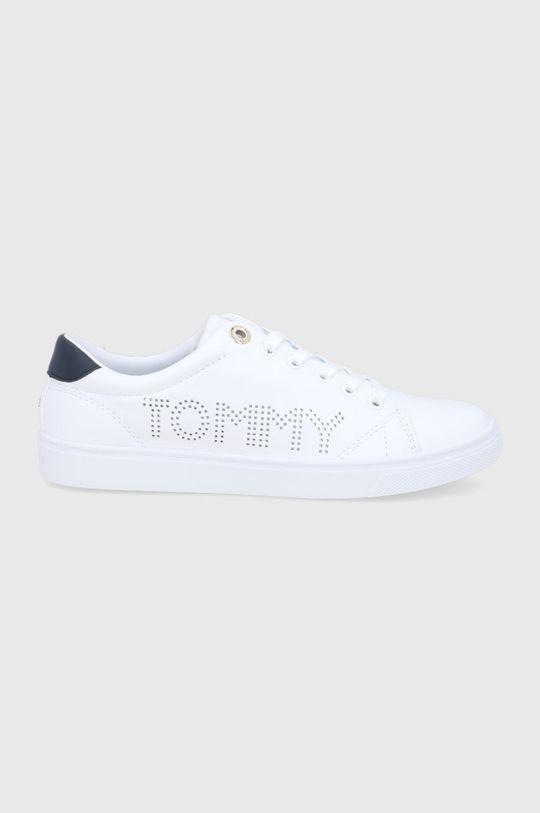 bílá Tommy Hilfiger - Kožené boty Dámský