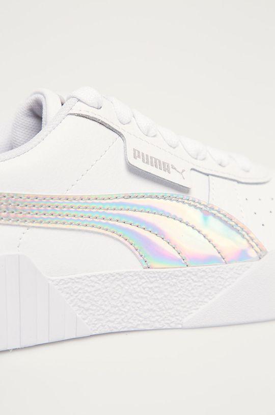 bílá Puma - Dětské boty Cali Bubbles Jr