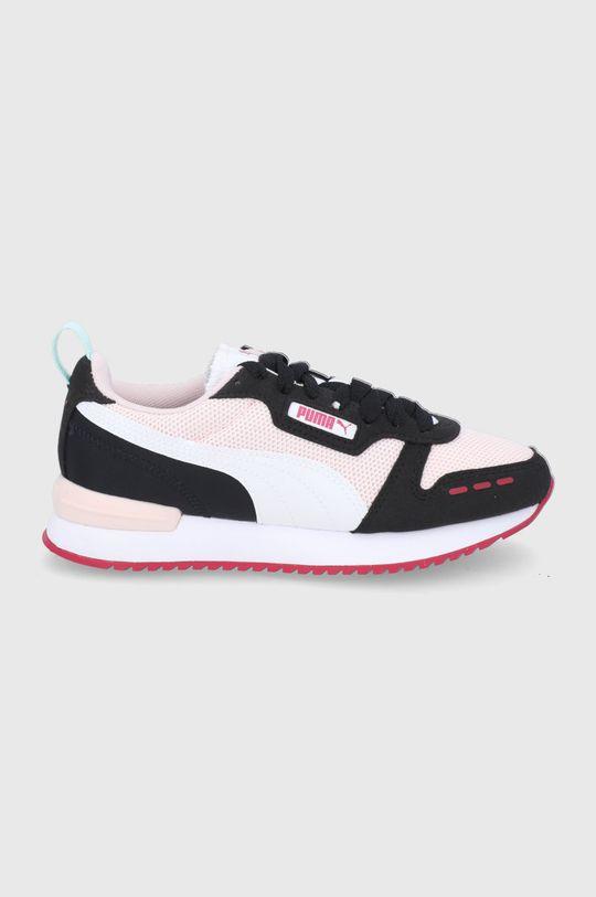 pastelowy różowy Puma - Buty dziecięce R78 Dziewczęcy