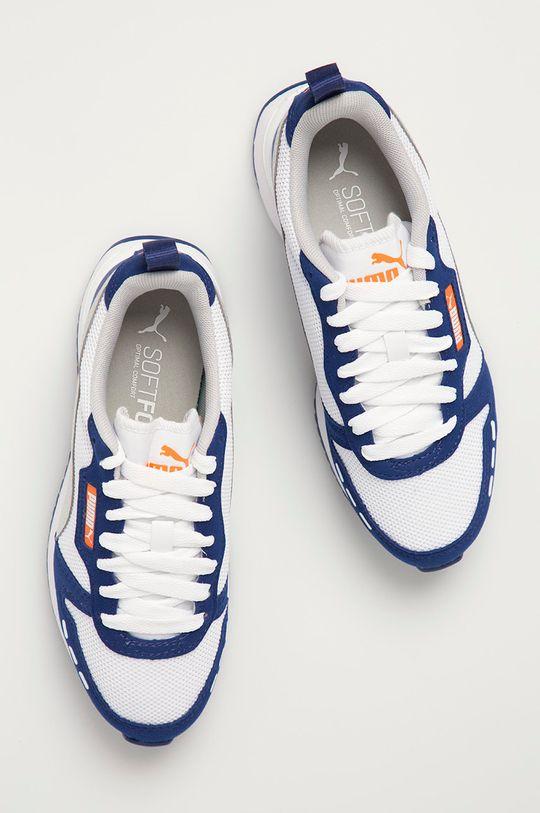 námořnická modř Puma - Dětské boty R78