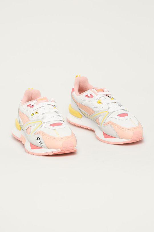 Puma - Dětské boty Mirage Mox x Peanuts bílá