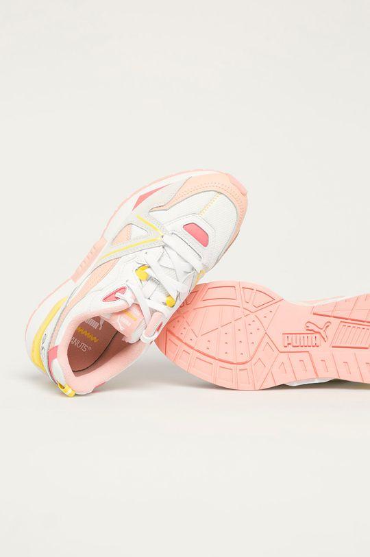 bílá Puma - Dětské boty Mirage Mox x Peanuts