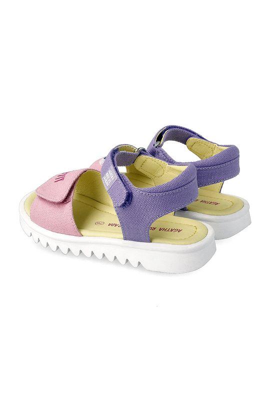 Agatha Ruiz de la Prada - Dětské sandály  Svršek: Textilní materiál Podrážka: Umělá hmota Vložka: Umělá hmota