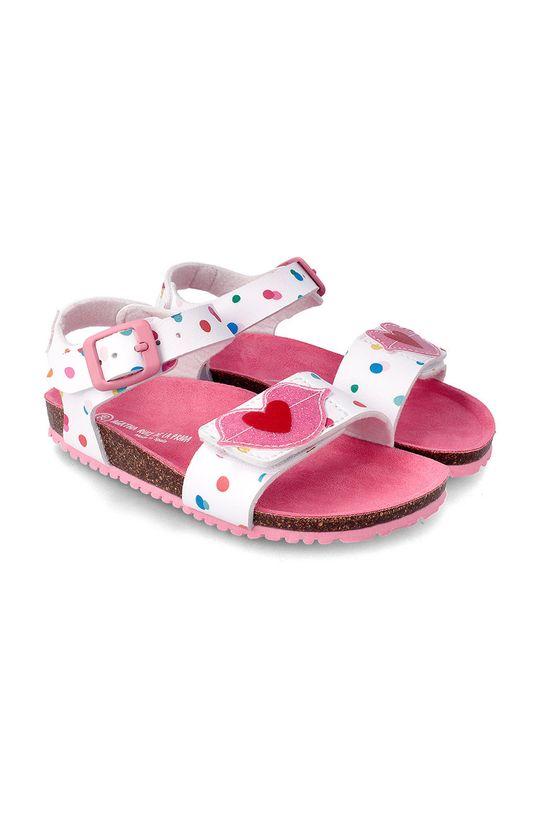 bílá Agatha Ruiz de la Prada - Dětské sandály Dívčí