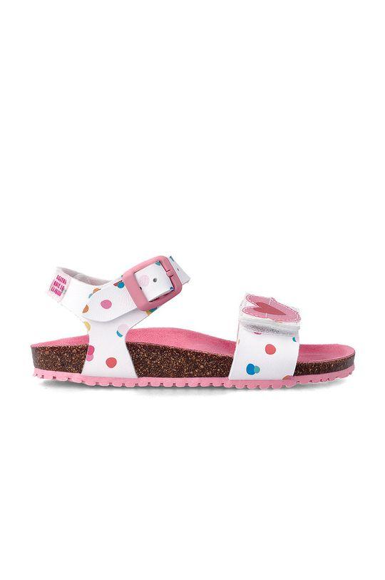Agatha Ruiz de la Prada - Dětské sandály bílá