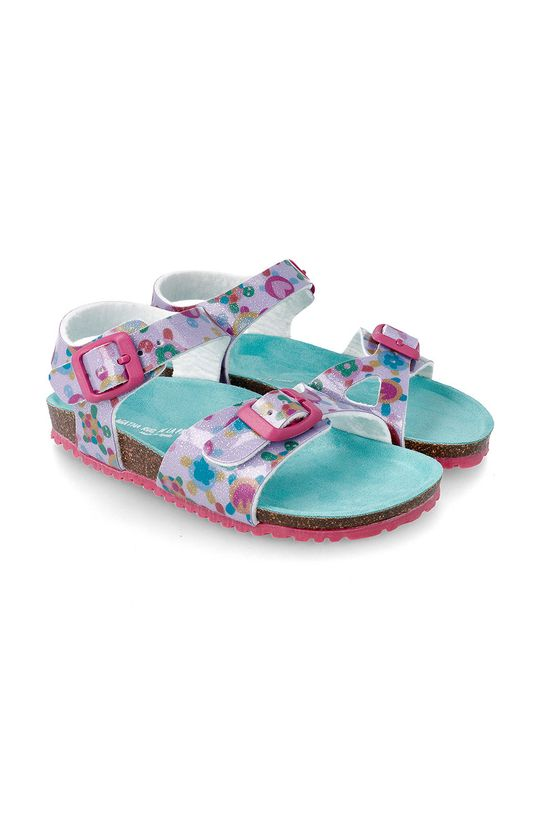 světle šedá Agatha Ruiz de la Prada - Dětské sandály Dívčí