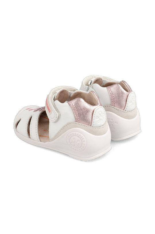Biomecanics - Sandały skórzane dziecięce Cholewka: Skóra naturalna, Wnętrze: Skóra naturalna, Podeszwa: Materiał syntetyczny