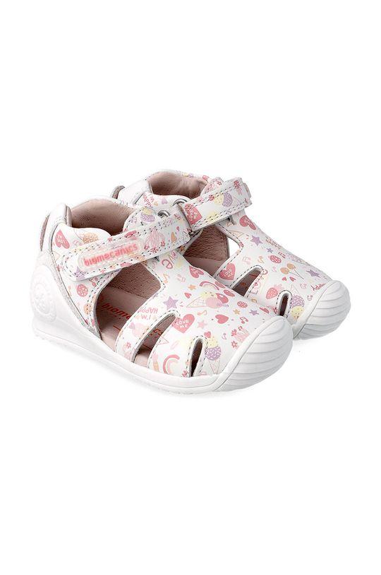 bílá Biomecanics - Dětské sandály Dívčí