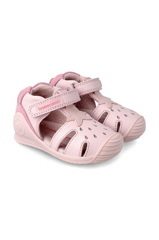 růžová Biomecanics - Dětské sandály Dívčí