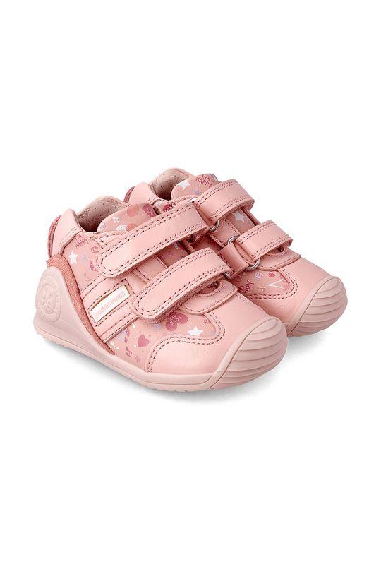 růžová Biomecanics - Dětské boty Dívčí