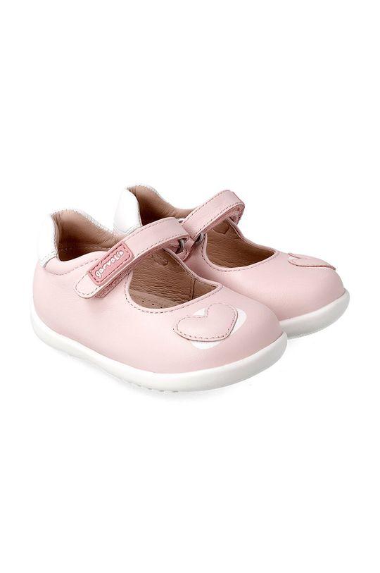 pastelově růžová Garvalin - Dětské balerínky Dívčí