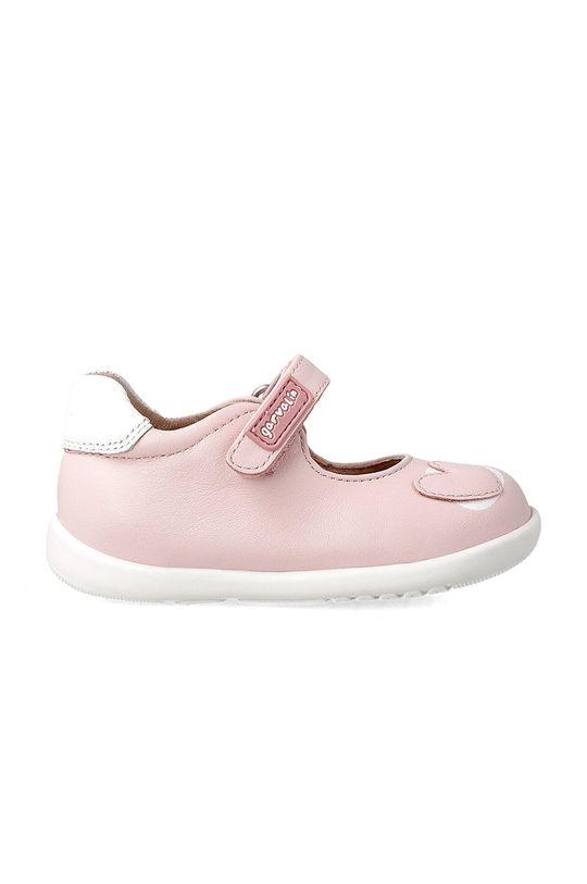 Garvalin - Dětské balerínky pastelově růžová