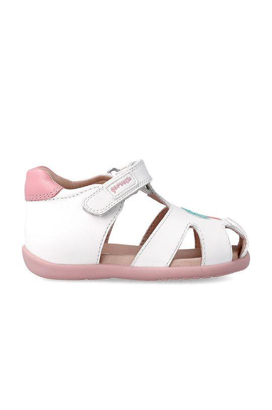 Garvalin - Dětské sandály bílá