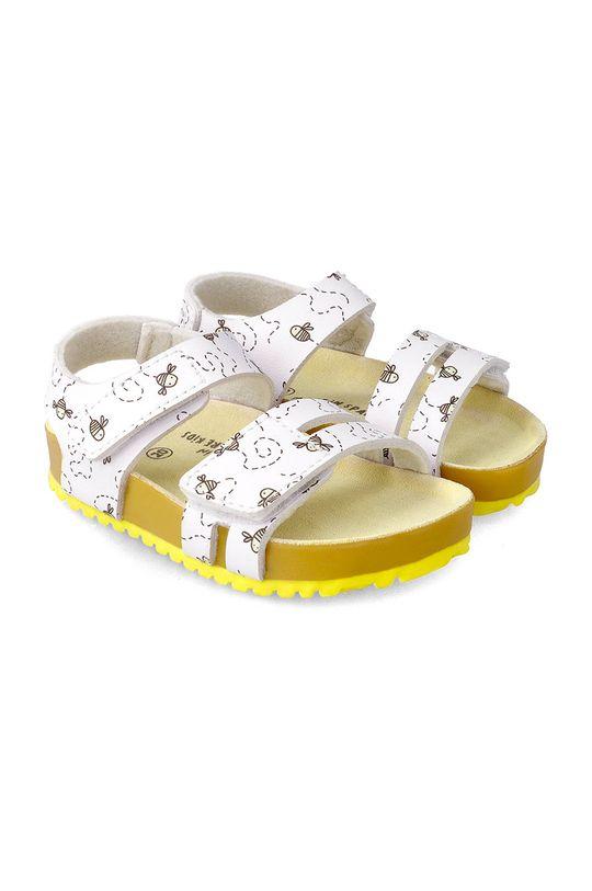 žlutá Garvalin - Dětské sandály Dívčí